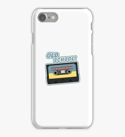 Old School Mix Tape iPhone Case/Skin