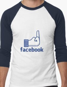 F*&K Facebook Men's Baseball ¾ T-Shirt