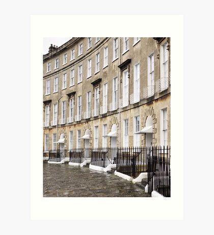 Cavendish Crescent, Bath Art Print