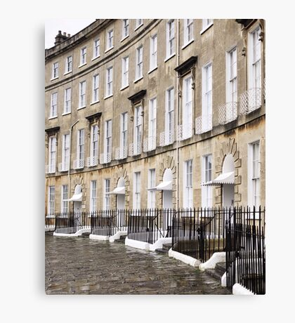 Cavendish Crescent, Bath Canvas Print