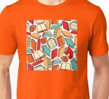 Seamless book pattern or Background wallpaper Unisex T-Shirt