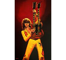 Jimmy Page Painting Photographic Print
