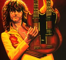 Jimmy Page Painting Sticker