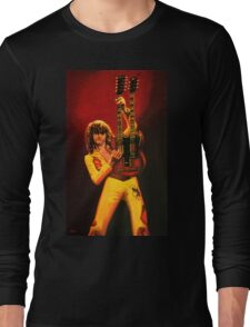 Jimmy Page Painting Long Sleeve T-Shirt