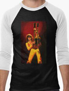 Jimmy Page Painting Men's Baseball ¾ T-Shirt