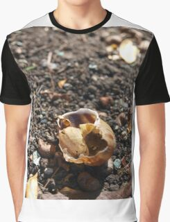 Discarded Snail Shell Graphic T-Shirt