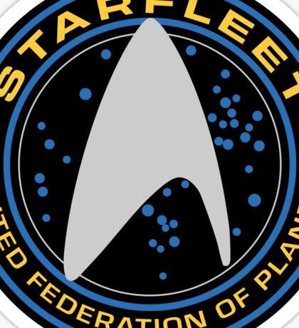 Star Trek - Starfleet / UFP Logo Screen (Screen Accurate!) Sticker
