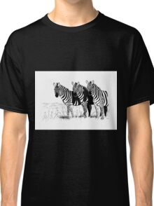 Their World in Black and White Classic T-Shirt