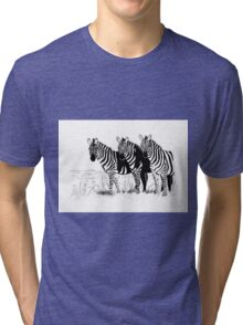Their World in Black and White Tri-blend T-Shirt