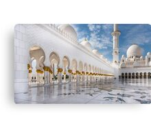 Sheikh Zayed Mosque Canvas Print