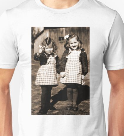 Happy Little German Girls living in the Third Reich Unisex T-Shirt