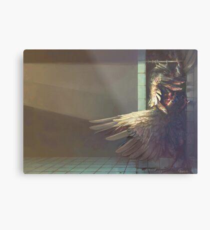 Birdshower Metal Print