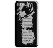 Fairy Tail Splash Grey iPhone Case/Skin
