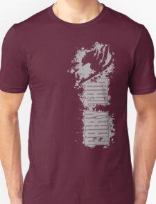 Fairy Tail Splash Grey Unisex T-Shirt