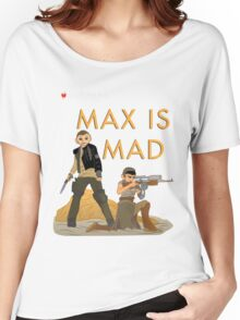 Max Is Mad Little Fury Book Shirt Women's Relaxed Fit T-Shirt