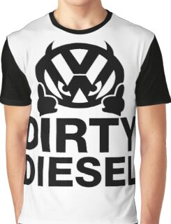 Dirty Diesel, VW Humor Graphic T-Shirt
