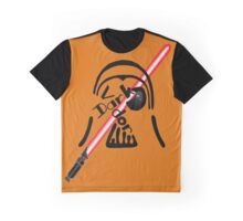 A Dark Famous Father with his Saber Graphic T-Shirt