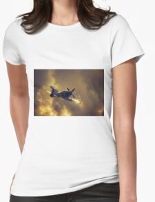 Hawker Sea Fury Womens Fitted T-Shirt