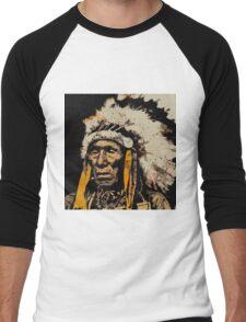 BLACK ELK Men's Baseball ¾ T-Shirt