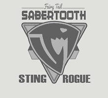Sabertooth Triangle Grey Unisex T-Shirt