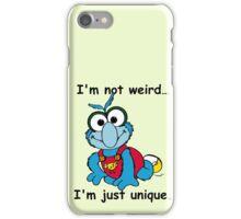 Muppet Babies - Gonzo 02 - I'm Not Weird... iPhone Case/Skin