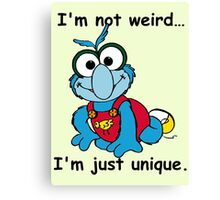 Muppet Babies - Gonzo 02 - I'm Not Weird... Canvas Print