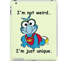 Muppet Babies - Gonzo 02 - I'm Not Weird... iPad Case/Skin