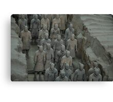 Terracotta Army Canvas Print
