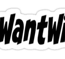 We Want Widow Sticker