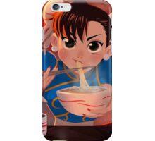 Chun-Li Noodles iPhone Case/Skin