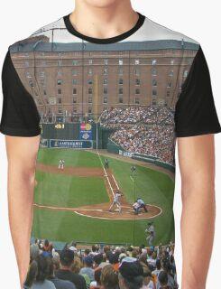 Baltimore Home of Baseball Fever Graphic T-Shirt