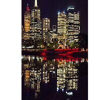 Angel on the Yarra Photographic Print