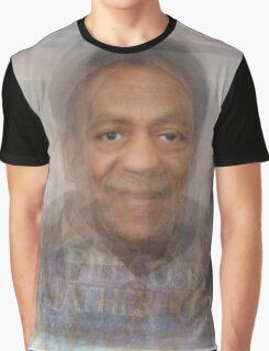 Bill Cosby Portrait Graphic T-Shirt
