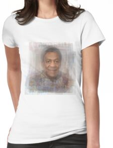 Bill Cosby Portrait Womens Fitted T-Shirt