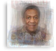 Bill Cosby Portrait Canvas Print