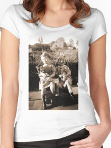 German Children in the days of the Third Reich Women's Fitted Scoop T-Shirt