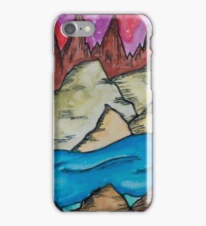 Colorful Landscape iPhone Case/Skin