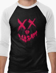Spray on a Happy Face Men's Baseball ¾ T-Shirt