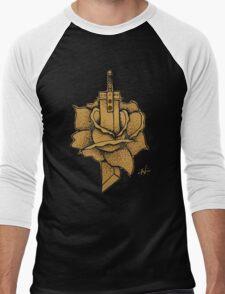 Buster Sword Rose Men's Baseball ¾ T-Shirt