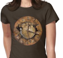 Counting Out Time Womens Fitted T-Shirt