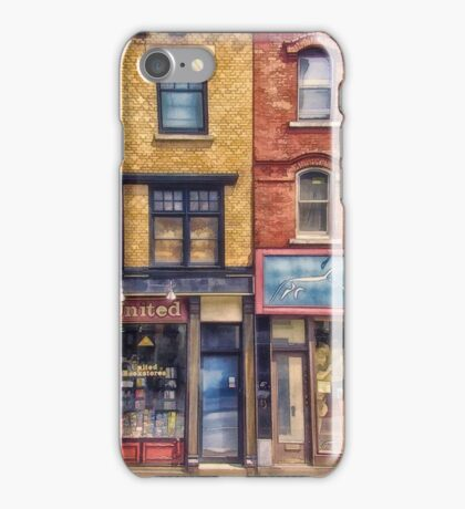 City Street Halifax Nova Scotia iPhone Case/Skin