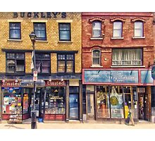 City Street Halifax Nova Scotia Photographic Print