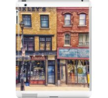 City Street Halifax Nova Scotia iPad Case/Skin