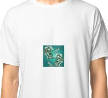 Cthulhu the Cthinker in Creepy Teal Classic T-Shirt
