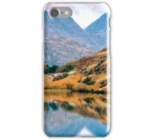 Reflection upon Lake Hayes - New Zealand iPhone Case/Skin