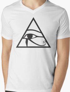 Horus Eye Mens V-Neck T-Shirt