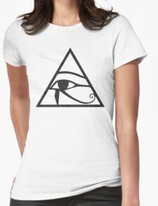 Horus Eye Womens Fitted T-Shirt