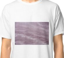 Waves of pink salt - Lake Eyre - South Australia Classic T-Shirt