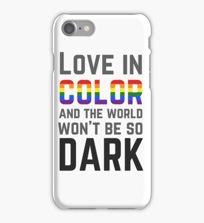 Love in Color iPhone Case/Skin