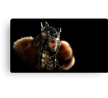 Thorin Oakenshield, King under the Mountain  Canvas Print
